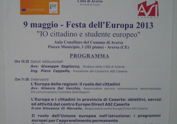 Festa dell'Europa 9 Maggio 2013