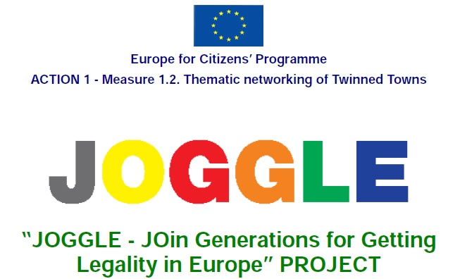 Conferenza Europea JOGGLE, Lauro (AV) 23 novembre 2013