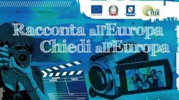 """II Edizione concorso """"Racconta all'Europa. Chiedi all'Europa"""""""