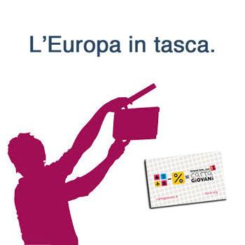 Carta Giovani, l'Europa in tasca