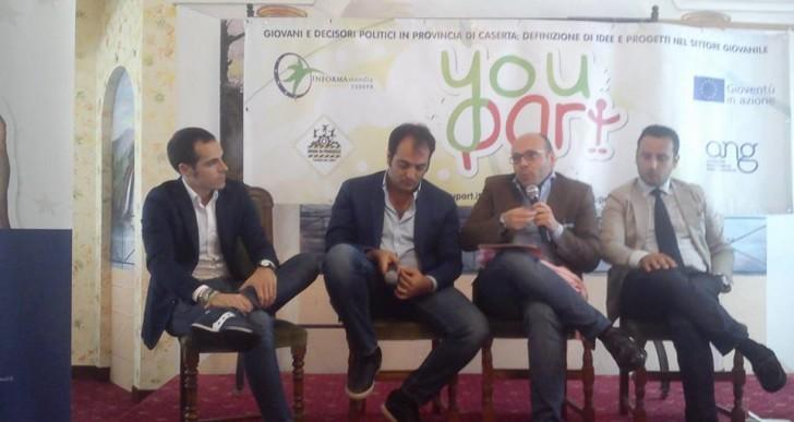 YOU Part: EDIC ASI Caserta è intervenuto nel progetto che sostiene il dialogo strutturato tra i giovani campani ed il loro rappresentanti