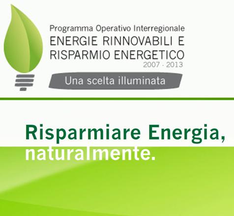 Winter school – Fondi comunitari per l'efficienza energetica e le fonti rinnovabili. Napoli 24-28 novembre
