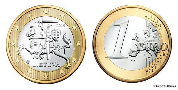 1 gennaio 2015: la Lituania adotta l'Euro