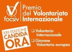 """Premio """"Giovane volontario europeo"""""""