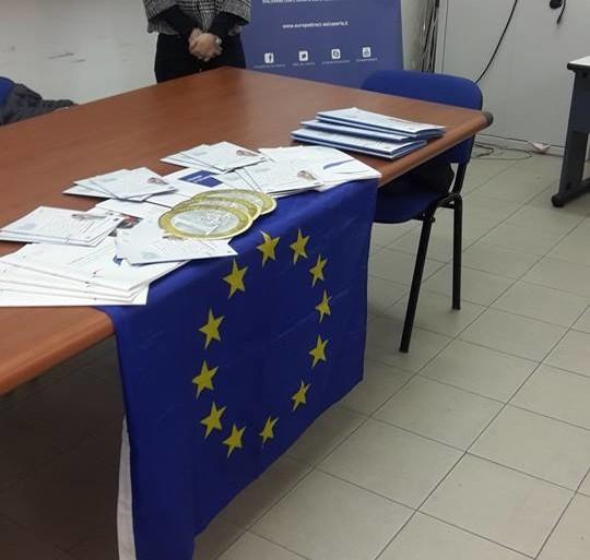 """Istituto A. Volta Aversa  """"Generazione Europa"""""""