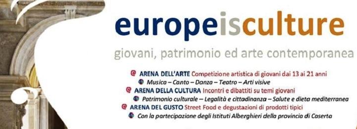 """EUROPE IS CULTURE [EIC] – YOUTH WITHOUT BORDERS –   Europe Direct Caserta partecipa all'iniziativa organizzata dal Dipartimento di Scienze Politiche """"Jean Monnet"""" Università """"Vanvitelli"""""""