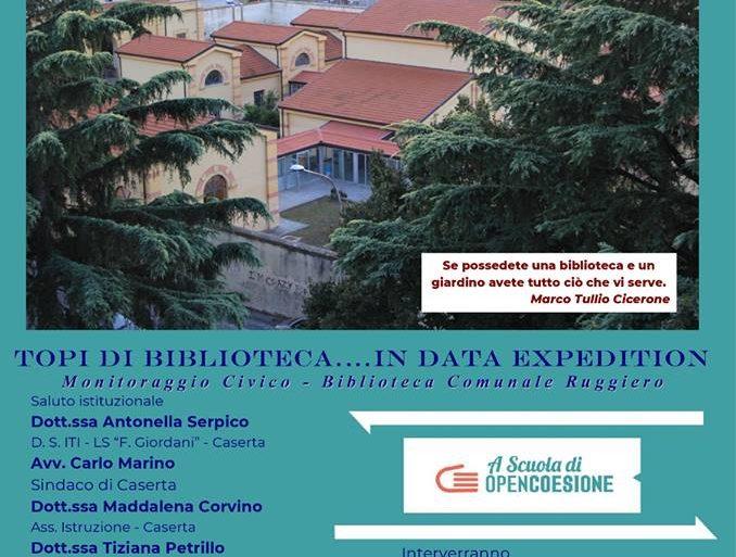 Il Centro Europe Direct Caserta all'evento della Settimana dell'Amministrazione Aperta il 15 Marzo 2019 dell'Istituto F.Giordani di Caserta