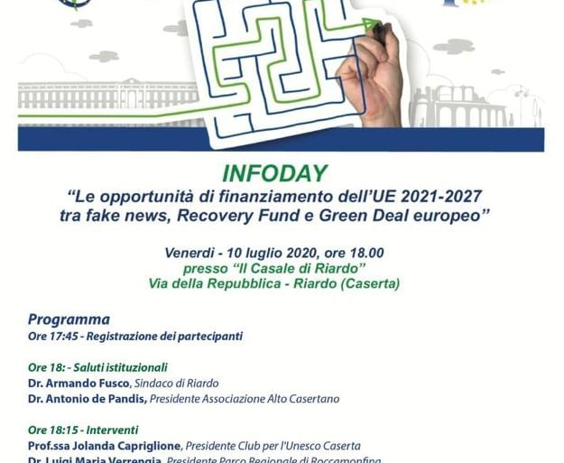 """Le opportunità di finanziamento dell'UE 2021-2027 tra fake news, Recovery Fund e Green Deal europeo"""