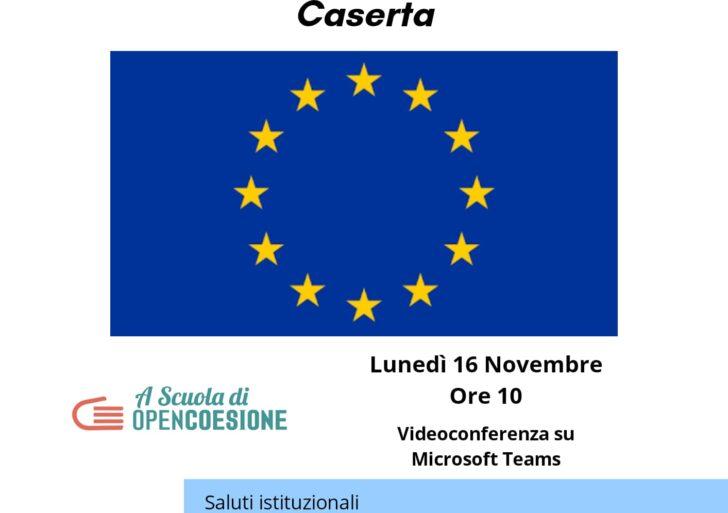 """L'Istituto F. Giordani di Caserta organizza in collaborazione col Centro EDIC: """"L'Europa intorno a me. ASOC e opportunità per i giovani di Caserta!"""""""