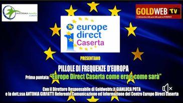 """Pillole Podcast di """"Frequenze d'Europa"""" in collaborazione con Gold Web TV"""